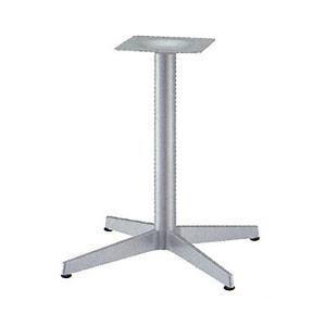 テーブル脚 ベストS2650 ベース465x465 パイプ60.5φ 受座240x240 I41紛体塗装 AJ付 高さ700mmまで