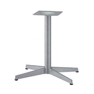 テーブル脚 ベストS3800 ベース645x470 パイプ60.5φ 受座240x240 I41紛体塗装 AJ付 高さ700mmまで