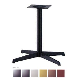 テーブル脚 ベストS3650 ベース520x380 パイプ60.5φ 受座240x240 基準色塗装 AJ付 高さ700mmまで