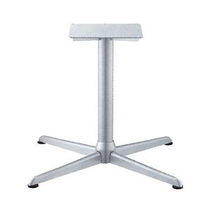 テーブル脚 コルサエルS2900 ベース640x640 パイプ76.3φ 受座350x350補強付 I41紛体塗装 AJ付 高さ700mmまで
