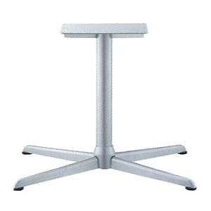 テーブル脚 コルサエルS3900 ベース730x510 パイプ76.3φ 受座250x400補強付 I41紛体塗装 AJ付 高さ700mmまで