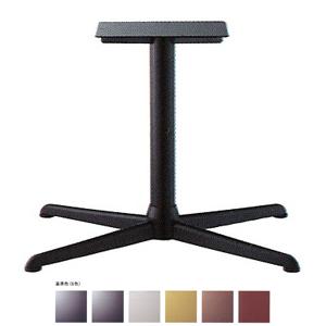 テーブル脚 コルサエルS3900 ベース730x510 パイプ76.3φ 受座250x400補強付 基準色塗装 AJ付 高さ700mmまで