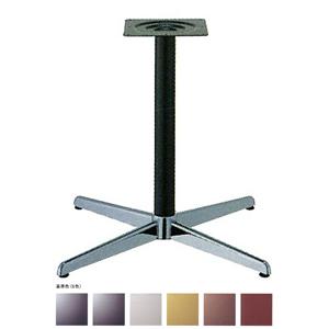 テーブル脚 コルサS2800 ベース570x570 パイプ60.5φ 受座240x240 クローム/塗装パイプ AJ付 高さ700mmまで