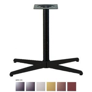 テーブル脚 コルサS3700 ベース600x360 パイプ60.5φ 受座240x240 基準色塗装 AJ付 高さ700mmまで