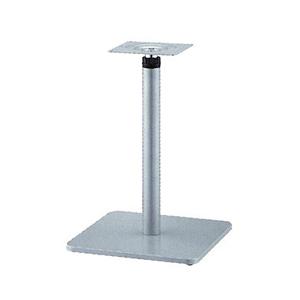ラチェット昇降式テーブル脚 マストSC7370 ベース370x370 パイプ60.5φ 受座240x240 I41紛体塗装 AJ付 高さ570mm~870mm