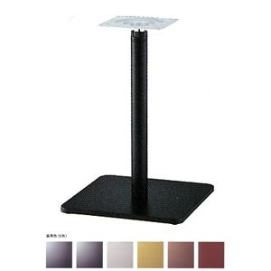 ラチェット昇降式テーブル脚 マストSC7370 ベース370x370 パイプ60.5φ 受座240x240 基準色塗装 AJ付 高さ670mm~970mm