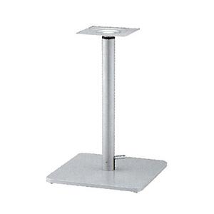 ガス昇降式テーブル脚 ボンドSG7550 ベース550x370 パイプ60.5φ 受座240x240 I41紛体塗装 AJ付 高さ680mm~930mm