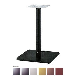 ガス昇降式テーブル脚 マストSG7370 ベース370x370 パイプ60.5φ 受座240x240 基準色塗装 AJ付 高さ680mm~930mm