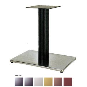 テーブル脚 ボンドS7550 ベース550x370 パイプ101.6φ 受座240x240 ステンレス/塗装パイプ AJ付 高さ700mmまで