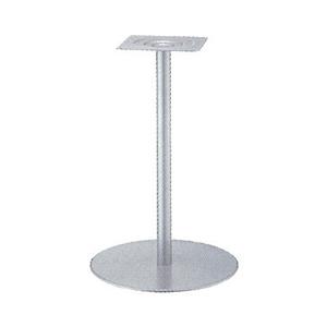 テーブル脚 センターS7500 ベース500φ パイプ42.7φ 受座240x240 I41紛体塗装 高さ700mmまで