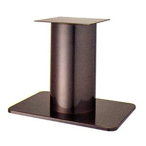 テーブル脚 マリオS7680 ベース680x455 パイプ210φ 受座350x350 シービーメッキ AJ付 高さ700mmまで