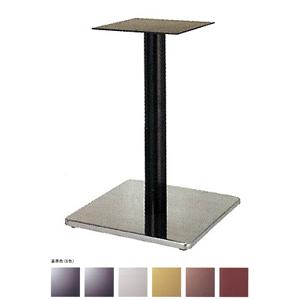 テーブル脚 マストS7370 ベース370x370 パイプ76.3φ 受座240x240 ステンレス/塗装パイプ AJ付 高さ700mmまで
