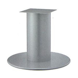 テーブル脚 ラウンドS7750 ベース750φ パイプ139φ 受座240x240 I41紛体塗装 AJ付 高さ700mmまで
