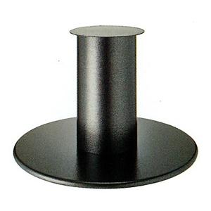 テーブル脚 ラウンドS7850 ベース850φ パイプ210φ 受座280φ Aシルバー紛体塗装 AJ付 高さ700mmまで