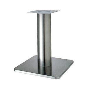 テーブル脚 スカイS7520 ベース520x520 パイプ101.6φ 受座240x240 ステンレス AJ付 高さ700mmまで