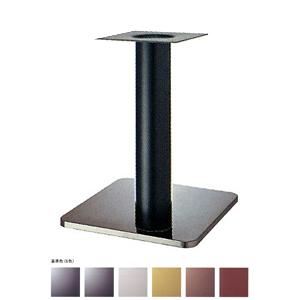 テーブル脚 スカイS7460 ベース460x460 パイプ76.3φ 受座240x240 ステンレス/塗装パイプ AJ付 高さ700mmまで