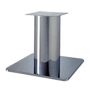 テーブル脚 スカイS7660 ベース660x660 パイプ210φ 受座350x350 クロームメッキ AJ付 高さ700mmまで