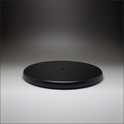 DSPポール脚用 ラウンドベース 500mm 黒塗装仕上