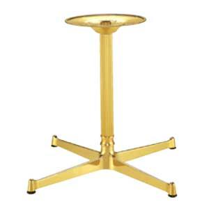 色々な木製天板に合うスチール製テーブル脚をご用意しました テーブル脚 モデル着用&注目アイテム FB2550 セール品 ベース400x400 パイプ45φ 受座280φ 高さ700mmまで アルミゴールド AJ付