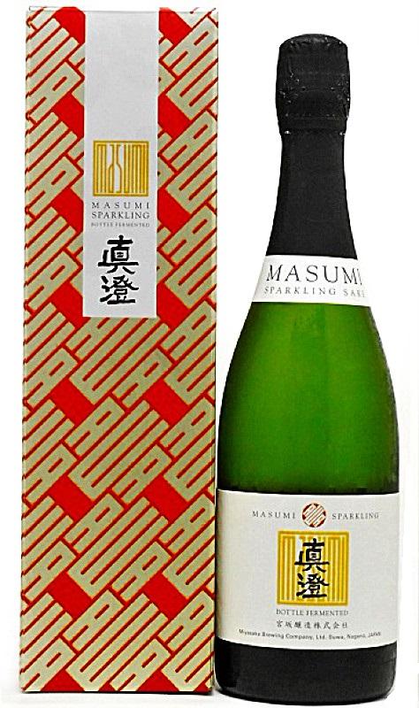 スパークリング純米酒 発泡性 真澄 春の新作続々 函付 送料無料お手入れ要らず 750ml スパークリング