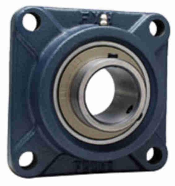 FYH UCF218FD 角フランジ形ユニット 鋳鉄製軸端カバー付き
