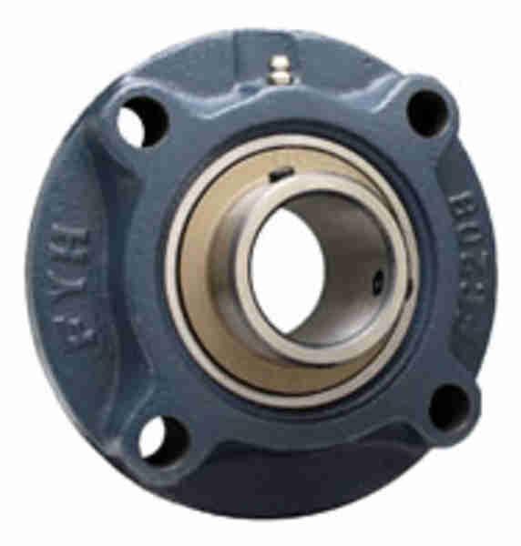 FYH UCFC217D 印ろう付き丸フランジ形ユニット 鋼板製軸端カバー付き
