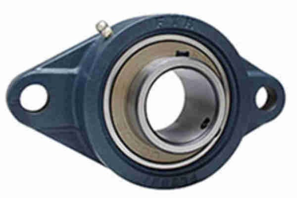FYH UCFL317C ひしフランジ形ユニット 鋳鉄製貫通カバー付き