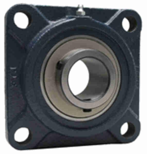 FYH UCFS318C 印ろう付き丸フランジ形ユニット 鋳鉄製貫通カバー付き