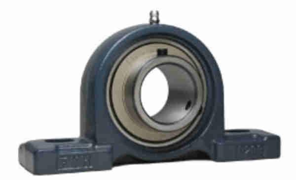 FYH UCP316C ピロー形ユニット 鋳鉄製貫通カバー付き