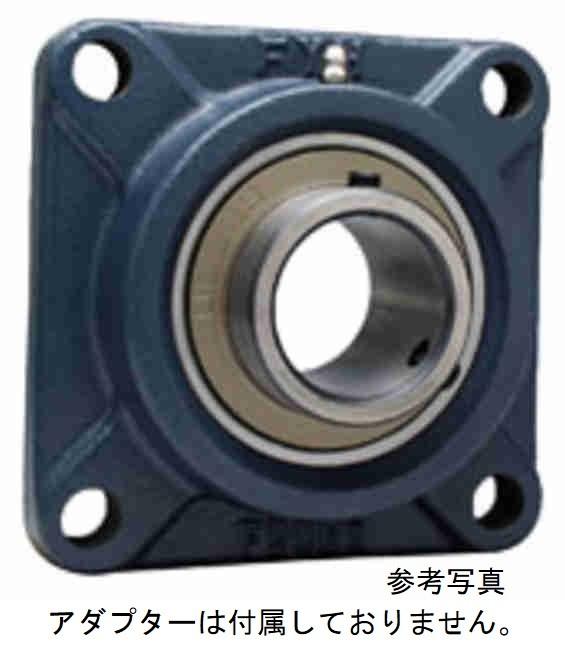 FYH UKF217FC 角フランジ形ユニット 鋳鉄製貫通カバー付き