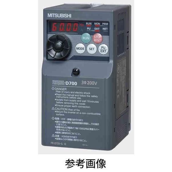 三菱電機 FR-D720-3.7K インバータ FREQOL-D700シリーズ 三相200V