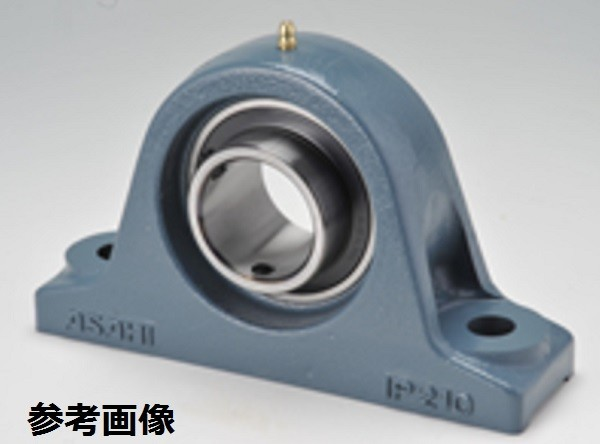旭精工 ピロー形ユニット UCIP213C 鋼板製貫通カバー付