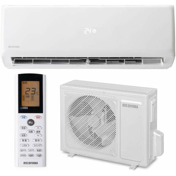 ルームエアコン2.8kW(スタンダード) IRR-2819G送料無料 エアコン 暖房 冷房 エコ アイリス クーラー リビング ダイニング 子ども部屋 空調 除湿 タイマー付 内部クリーン機能 アイリスオーヤマ