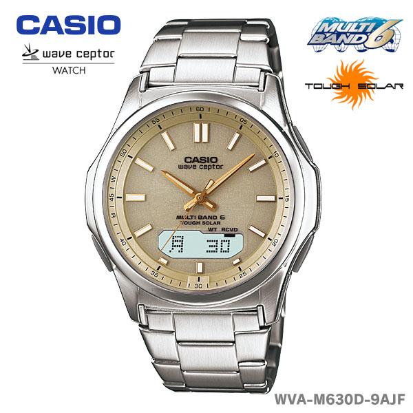 【送料無料】CASIO〔カシオ〕腕時計 ソーラー電波時計 WAVE CEPTOR WVA-M630D-9AJF【D】