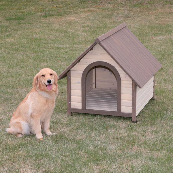 【送料無料】ウッディ犬舎 WDK-900 ブラウン アイリスオーヤマ ペット用品 犬