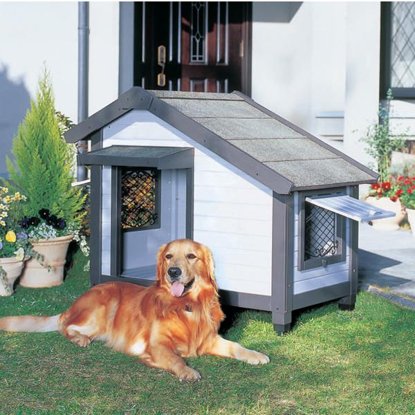 【送料無料】コテージ犬舎 CGR-1080 グレー アイリスオーヤマ ペット用品 犬