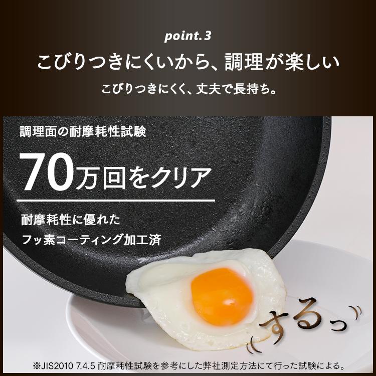 スキレットコートパン 26cm ブラック SKL-26GSあす楽対応 すきれっと スキレットパン アルミ 軽い かるい おしゃれ インスタ フッ素コーティング キャンプ アウトドア 調理器具 フライパン アイリスオーヤマ