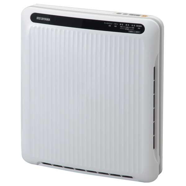 【送料無料】アイリスオーヤマ PM2.5対応 空気清浄機〔ホコリセンサー付〕 PMAC-100-S ホワイト/グレー[掃除機/クリーナー/コンパクト]