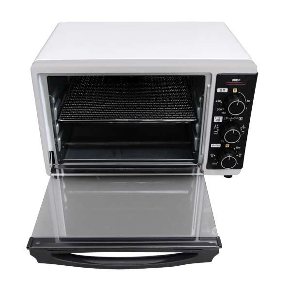ノンフライヤー コンベクションオーブン PFC-D15A-Wあす楽対応  ノンフライオーブン トースター ホワイト オーブン機能付き トースター ヘルシー 揚げ物 から揚げ トースト オーブントースター アイリスオーヤマ