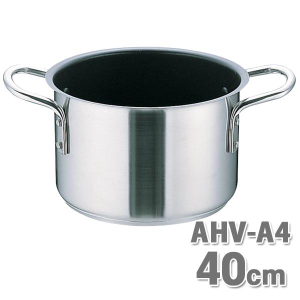 【送料無料】ムラノ テフロン AHVA407 半寸胴鍋 40cm【en】【TC】