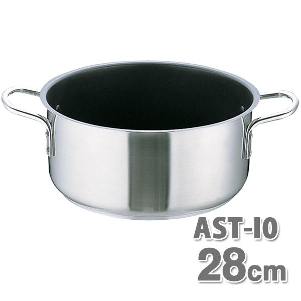 【送料無料】ムラノ テフロン ASTI005 外輪鍋 28cm【en】【TC】