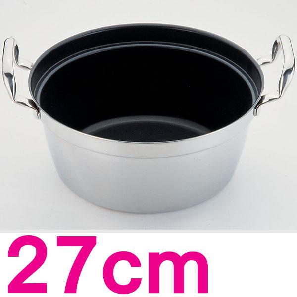 【送料無料】SAパワー・デンジ アルファ 円付鍋 AEV1501 27cm【en】【TC】