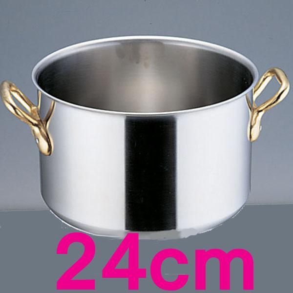 【送料無料】エコクリーン スーパーデンジ 半寸胴鍋 AEK0202 24cm【en】【TC】