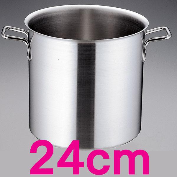 【送料無料】トリノ 寸胴鍋 AZV7502 24cm  【en】【TC】