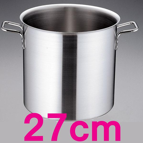 【送料無料】トリノ 寸胴鍋 AZV7503 27cm  【en】【TC】