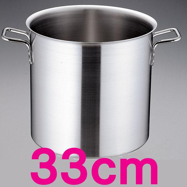 【送料無料】トリノ 寸胴鍋 AZV7505 33cm  【en】【TC】
