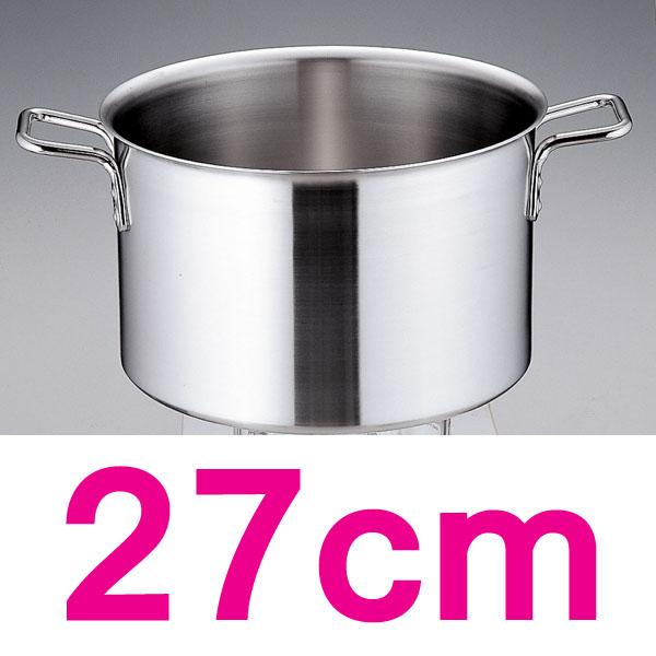 【送料無料】トリノ 半寸胴鍋 AHV9903 27cm  【en】【TC】