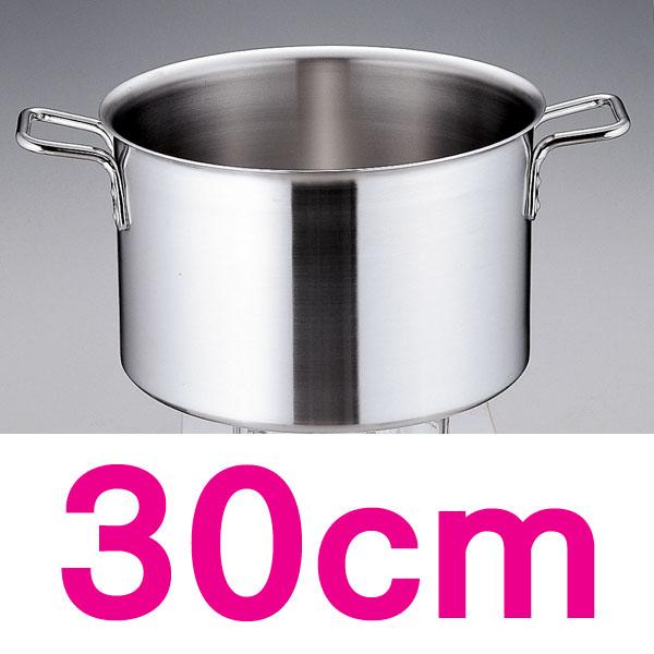 【送料無料】トリノ 半寸胴鍋 AHV9904 30cm  【en】【TC】
