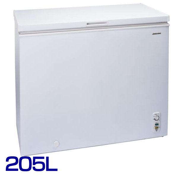 【送料無料】アビテラックス 上開き冷凍庫 205LACF-205C【D】【YD】[キッチン家電・新生活・一人暮らし・れいぞう庫・冷やし・食糧保存]【西濃運輸】【代引き不可】
