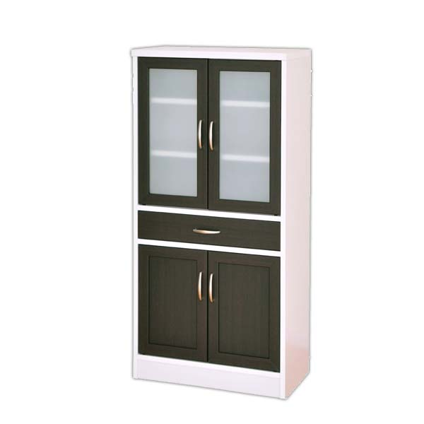 【送料無料】カフェティラ食器棚 CTS120-60G 佐藤産業 代引不可【TD】【北欧風 家具 リビング】